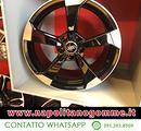 Cerchi rs3 rotor nero lucido Audi A5 A4 A6 A3 Q3 Q