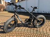Nilox e-bike x3, bici fat bike elettrica