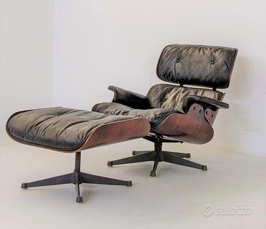 Poltrona - Poggiapiedi Lounge Chair - Eames