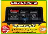 Navigatore 10 pollici WiFi android BMW X1 F48