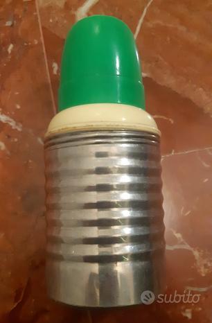 Piccolo thermos da viaggio - oggetto vintage 1950