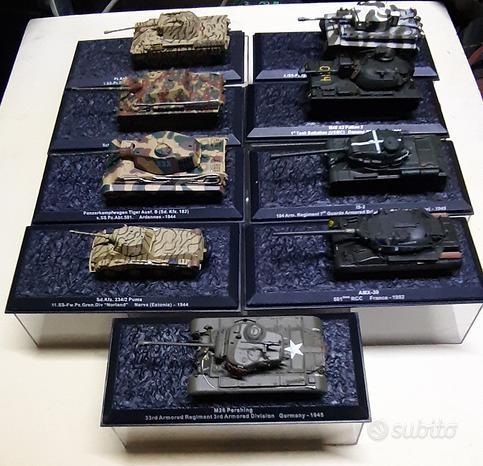Carri armati metallo modellismo