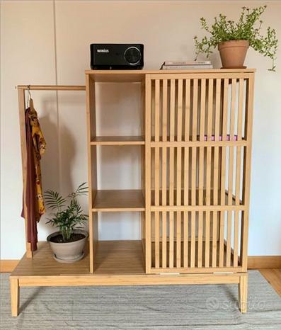 Armadio Ikea in bamboo