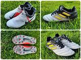 Scarpe calcio calcetto Adidas Nike n° 38 2 paia