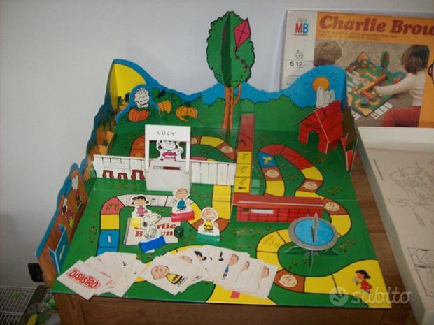 Charlie Brown, Risiko, puzzle Van Gogh, Othello