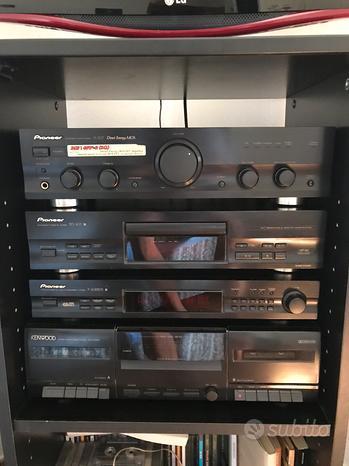 Impianto stereo hi fi Pioneer Kenwood B&W