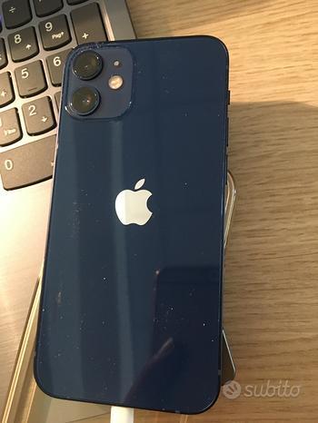 Iphone 12 mini blu 256 gb garanzia apple