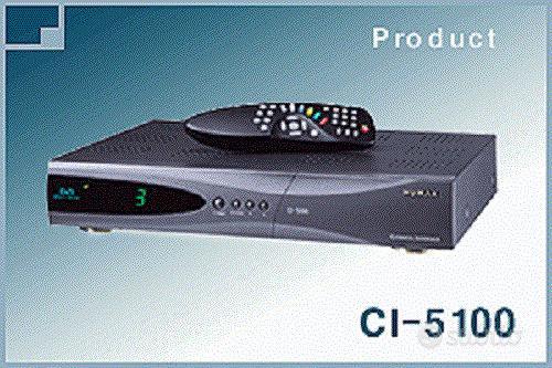 Decoder DVB Dual Cam Seca Irdeto HUMAX CI-5100