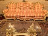 Barocco veneziano salotto stanza da pranzo