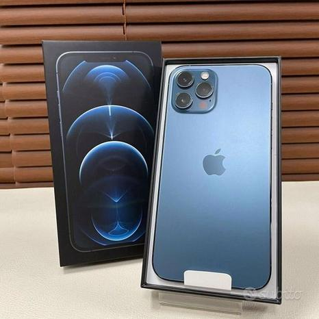 IPhone 12 pro max 128gb blu