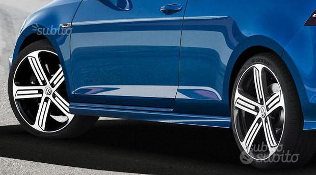 MINIGONNE LATERALI VW GOLF 7 R e R-Line ABS