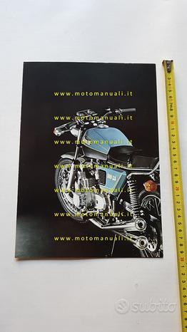 Benelli 500 LS 1977 depliant brochure moto