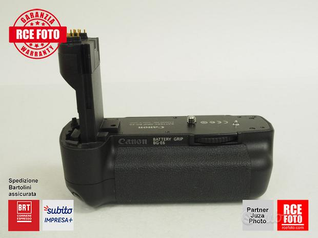 Canon BG-E6 battery grip per Canon 5D Mark II