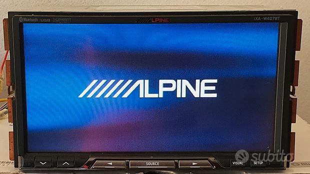Autoradio 2DIN ALPINE iXA-W407BT