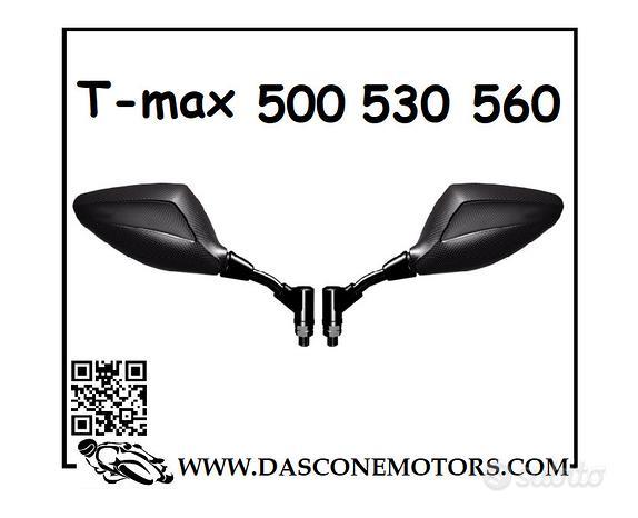 Specchietti a Manubrio Tmax Carbon Look