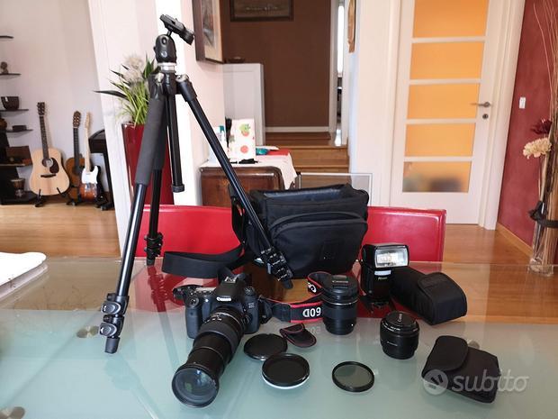 Kit fotografico Canon (anche vendita separata)