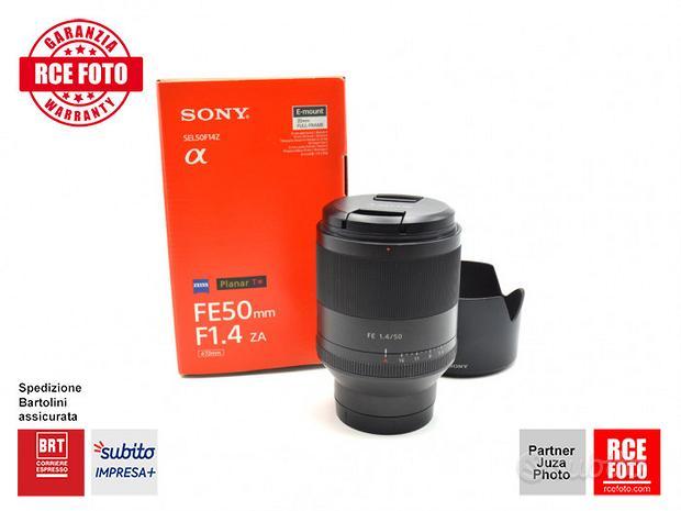 Sony FE 50 F1.4 ZA Planar T* (Sony)