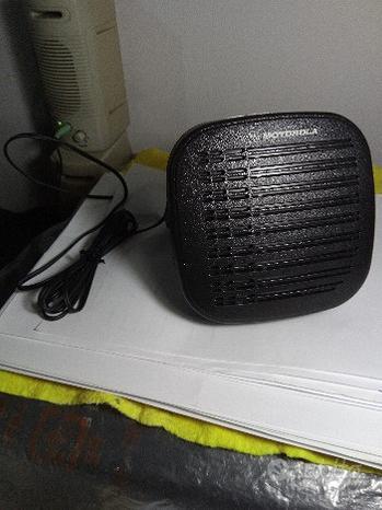Altoparlante speaker motorola con staffa e filo