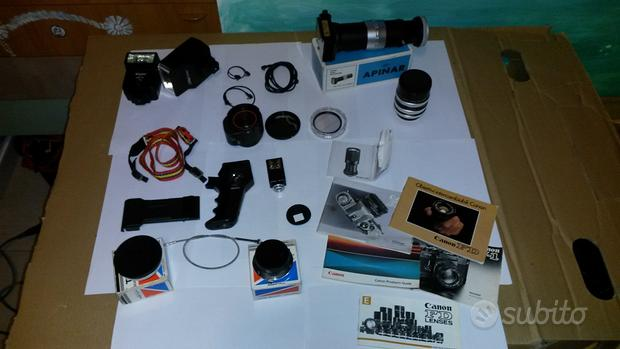 Accessori fotografici analogici anni '80