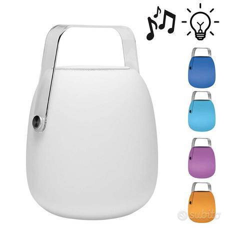 Cassa Bluetooth smart con lampada RGB portatile