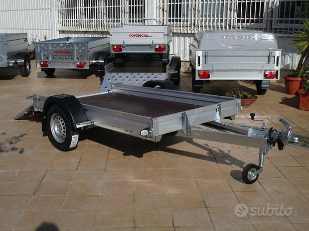 Porta barca 750kg per patente B anche con camper