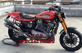 Harley xr 1200 piedini radiali x forcelle original