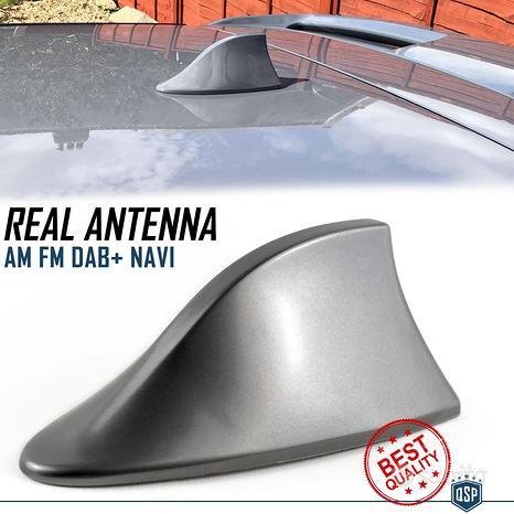 Antenna PINNA SQUALO per CITROEN GRIGIA VERO SEGNA