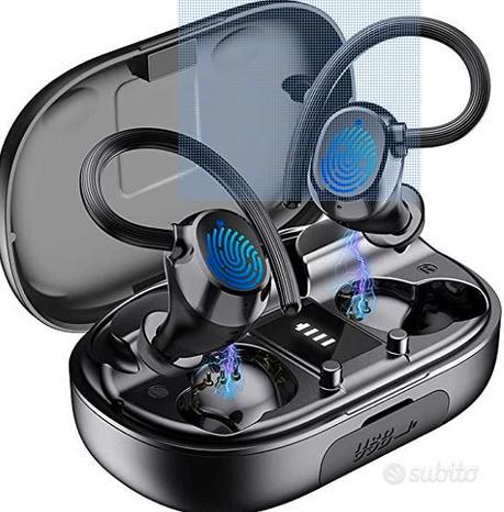 Cuffie wireless bluetooth sport NUOVE MAI USATE