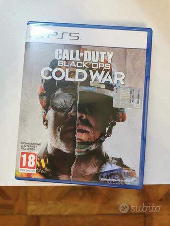 Call of duty black ops COLD WAR ps5 playstation