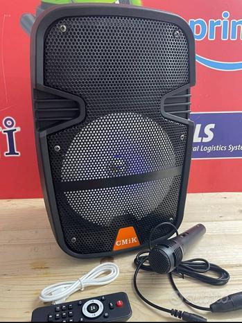 Cassa Karaoke 2000 w bluetooth paghi alla cons
