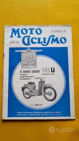 MOTOCICLISMO Rivista fascicolo n. 38 1953