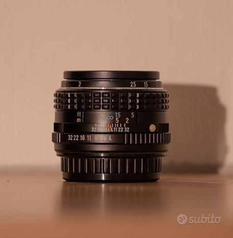 Obiettivo SMC Pentax M 50mm F4