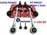 Kit bracci MERCEDES CLASSE C 220 CDI W203