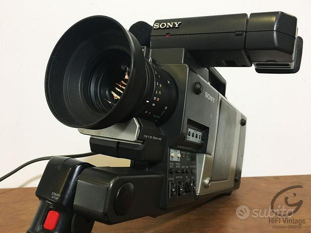 Sony CCD-V100E AF Foto video 8 tele camera