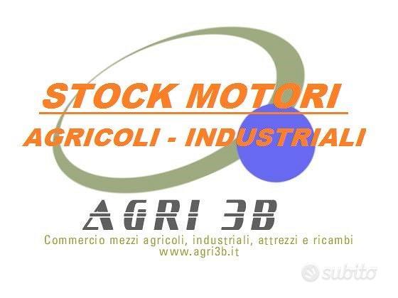 Stock motori di seconda mano, agricoli-industriali