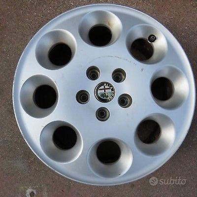 Cerchi in lega Alfa Romeo 166 misure 16/17/18