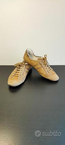 Hogan scarpe basse originali scamosciate