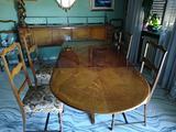 Sala da pranzo antiquariato stile impero