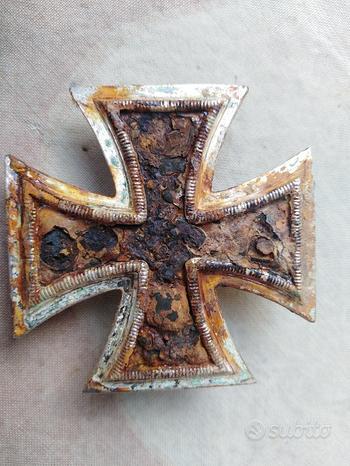 Ww2 croce tedesca I classe da scavo originale