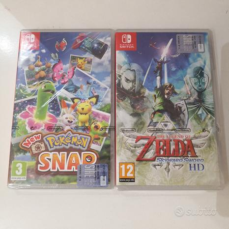 Giochi Nintendo Switch NUOVI Zelda /Pokemon