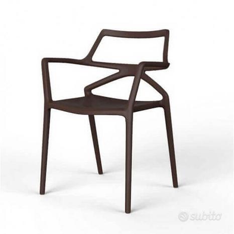 Sedia vondom delta conf.4 sedie nuove ed imballate