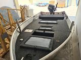 Barca in alluminio Ally 390 S allestita bass