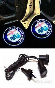Logo auto led alfa romeo per portiera