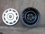 Rif.1164 cerchi in ferro usati 15 per bmw s.3