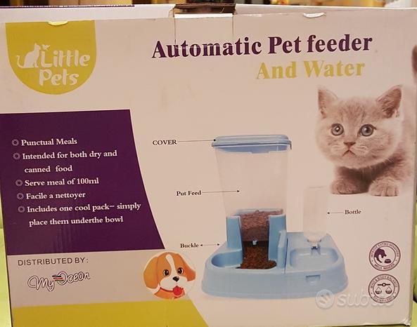 Dispenser cibo per gatti cani