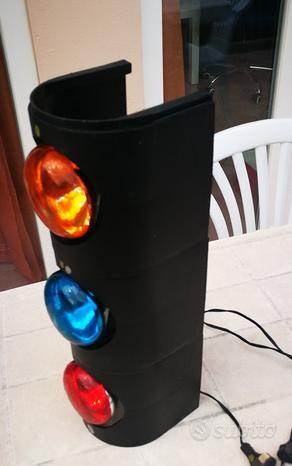 Colonna luci colorate