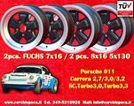 Ï»¿Set cerchi 7x16 +8x16 Porsche 911 Carrera SC Tu