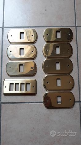 Placchette in ottone