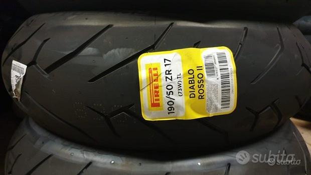 Pirelli Diablo Rosso II 190/50 ZR17
