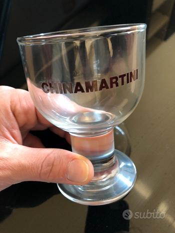 Bicchieri liquore China Martini